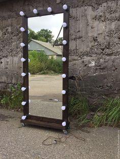 Купить Гримерное зеркало ESPRESSO 180/80 - коричневый, зеркало, купить зеркало…