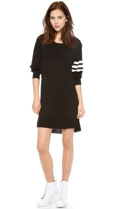 Y-3 Long Sleeve Sweater Dress