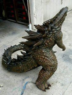 Custom Made Godzilla Statue
