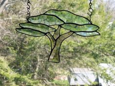 Tree of Life   Beveled stained glass african by GlassMonkeyArts, $97.00