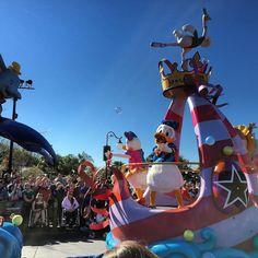 Donald and Daisy looking great! @WDWToday #festivaloffantasy #MagicKingdom #waltdisneyworld #wdw #instadisney #disneygram