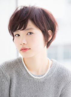 好感度◎ニュアンスショート 【Ramie】 http://beautynavi.woman.excite.co.jp/salon/27006?pint ≪ #shorthair #shortstyle #shorthairstyle #hairstyle・ショート・ヘアスタイル・髪形・髪型≫