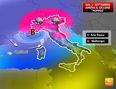 Arriva la pioggia, e sarà tanta e probabilmente raggiungerà quasi tutte le regioni italiane. Responsabile di questo cambiamento sarà il ciclone Poppea che dal 1° settembre (inizio dell'autunno meteorologico) porterà maltempo al Nord e parte del Centro. SITUAZIONE – Nel corso di...