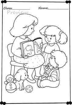 Play with me! Coloring pages.