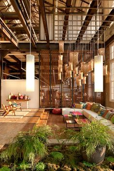 lofts are so cool I want to live in one