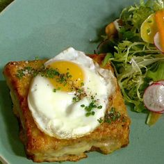 the chew | Recipe  | Daniel Boulud's Croque Madam