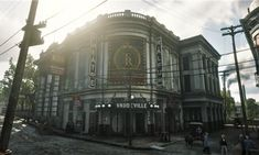 Théâtre Râleur | Red Dead Wiki | Fandom Red Dead Online, Cultural Capital, Pig Farming, Red Dead Redemption, Location Map, Dungeons And Dragons, The Magicians, Big Ben, Pond