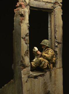 Диорамы и виньетки: Нормандия, 1944, фото #10