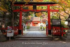 The main hall of the Ōharano Shrine (大原野神社) During the Autumn Season of 2013 in Kyoto!