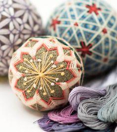Temari; Japanese thread balls Loop,London