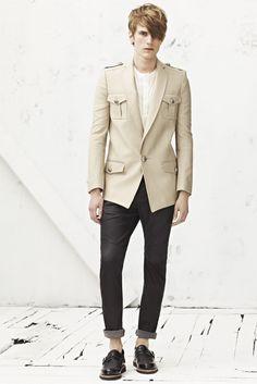 Balmain - Moda Uomo Primavera Estate 2013 - Vogue.it
