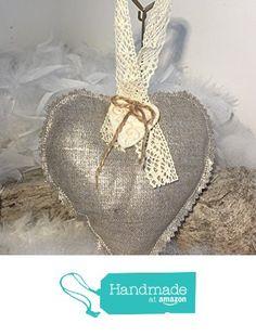 """Coeur coton enduit argenté """" fait main """"... à partir des Mode2filles by Inès&Zoé https://www.amazon.fr/dp/B01MCYN0C3/ref=hnd_sw_r_pi_dp_Q3jeyb6M421KZ #handmadeatamazon"""