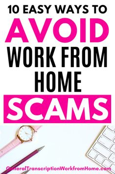 How to avoid work from home scams. 10 easy ways to avoid work from home scams and job scams. When you know how to detect scams, you'll be closer to recognizing and finding legitimate work from home jobs. Work From Home Business, Work From Home Tips, Make Money From Home, Make Money Online, How To Make Money, Online Business, Legitimate Work From Home, Legitimate Online Jobs, At Home Careers