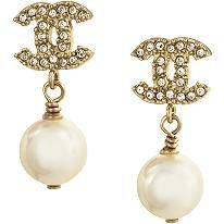 oh how i want these Coco Chancel Boucles earrings