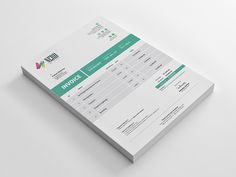 An awesome #freebie #invoice #template on @dribbble by rongmistiry. #freedownload #freeinvoice #freeshot #dribbble