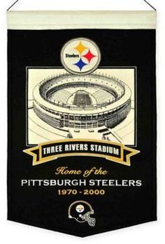 Celebrate your favorite team with this NFL Stadium Banner. This beautifully crafted, officially licensed wool banner features a color team logo, an image of the stadium and the year it was built that will add team spirit to any space.