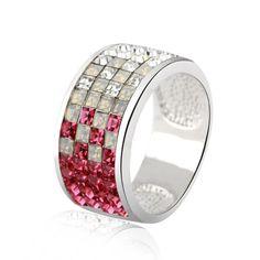 swarovski mosaic ring