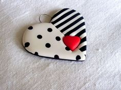 Polymer Clay Pendant This heart is so nicely done. ✿´¯`*•.¸¸✿ SHARE ✿´¯`*•.¸¸✿