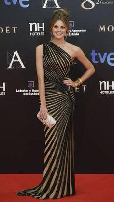 Amaia Salamanca by Zuhair Murad at Goya Awards 2013 #dress #fashion