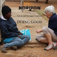 Let us not become weary of doing good. Galations 6:9 #GOSENDSPONSOR
