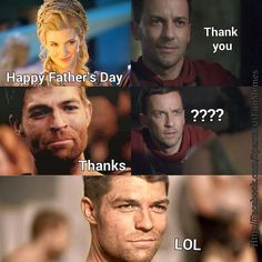 Spartacus father's day