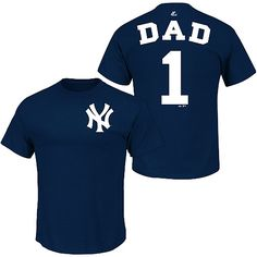 New York Yankees Team Dad T-Shirt by Majestic Athletic - MLB.com Shop