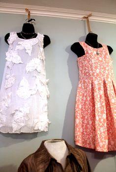 Adorable summer dresses.