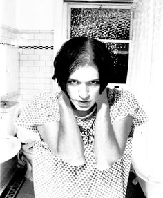 Brian Molko Photo Shoot (Being a Goose but having fun at it LOL)