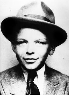 Frank Sinatra had style even as a child