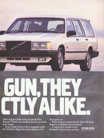 Volvo 740 Turbo Wagon 1988 Ad Picture