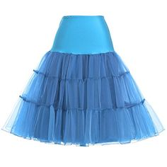 Petticoat Skirt Tulle Multi layer Prom for Evening Dress SSky Blue * Want additional info? Click on the image.