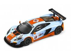 The TrueScale Minitatures 1/43 McLaren 12C GT3 #69 Gulf Racing 2013 24 Hr Spa is part of the TrueScale Miniatures 1/43 scale diecast model car range and displays some fantastic and intricate details.