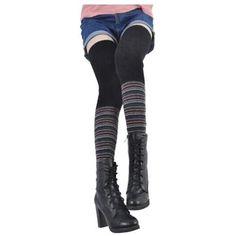 Underwear & Sleepwears Leg Warmers Orderly 2019 New Super Long Winter Warm Leg Warmers Warm Soft Wool Knitted Over Knee High Socks Womens Fashion Solid Skinny Stockings
