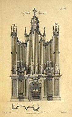 Design for a Gothic Organ, England