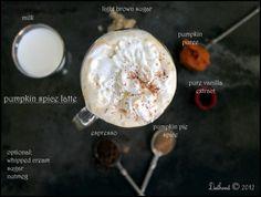PUMPKIN SPICE LATTE Really nice recipes. Every hour. Show me  Mein Blog: Alles rund um Genuss & Geschmack  Kochen Backen Braten Vorspeisen Mains & Desserts!