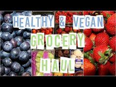 Healthy & Vegan Fall Grocery Haul #3 | Raw in College - YouTube