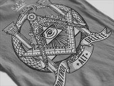 This was the first design that I have sold online. That being said I must say that I'm still proud of it after all these years.  #clothing #apparel #tshirt #tshirts #freemasons #illuminati #geek #freemason #shirt #nwo #nerd #masonic #tees #freemasonry #newworldorder #masons #kaos #tee #streetwear #shirts #clothingbrand #clothingline #killuminati #mason #tshirtoftheday #jeans #pants #jacket #anonymous #polo