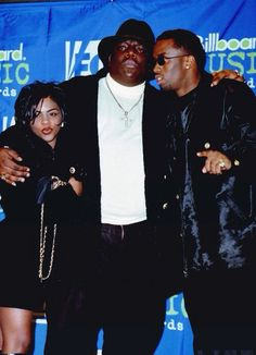 ✨ Lil' Kim, Biggie and Diddy 🔱 Hip Hop And R&b, Love N Hip Hop, 90s Hip Hop, Hip Hop Rap, Lil Kim And Biggie, Lowrider, Estilo Hip Hop, Afro, Hiphop