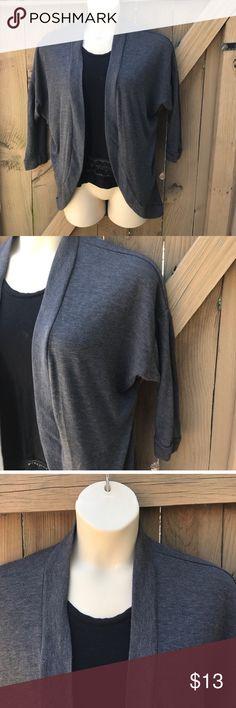 Size M/L dark grey Derek Heart long cardigan Size M/L dark grey Derek Heart long cardigan Derek Heart Sweaters Cardigans
