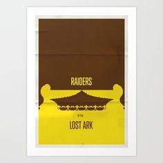 'Raiders' minimalist art print by cû3ik designs - From $15.60