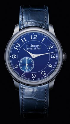 Number 3 dress watch. F.P. JOURNE Chronometre Bleu $19,890
