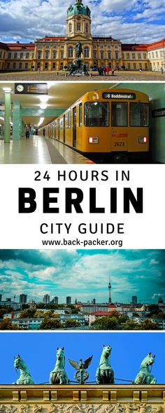 A 24-hour travel guide to exploring Berlin, Germany. Best things to do in the city when you're on a tight schedule from street art tours to food, restaurants, bars and nightlife to top architecture buildings and sites, as well as practical tips on budget, where to stay and how to get around. Travel ideas for Berlin, Germany. | Back-packer.org #Berlin #Germany