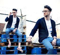 Blue pallets | No:41112 | メンズファッションスナップ フリーク - 男の着こなし術は見て学べ。