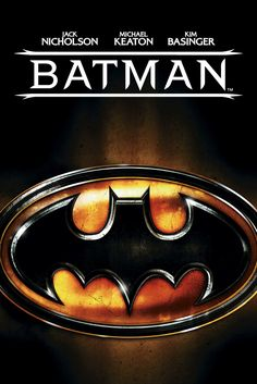 Batman Movie Poster - Michael Keaton, Jack Nicholson, Kim Basinger  #Batman…