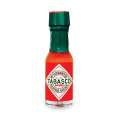 TABASCO® Original Red Hot Sauce Miniatures have been enjoyed on Air Force One and even in space! Perfect for gifts or on-the-go hot sauce enthusiasts.