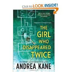 Crime Fiction:  not my regular genre any more.  Twin 6 year old girls, one abducted from her bed, one left behind.  Now the one left behind is a grown, married woman herself and her own 5 year old daughter is abducted.  No surprises, but not a bad choice for a quick, entertaining read.