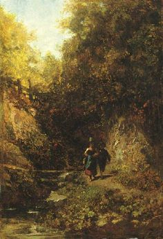 The Athenaeum - Two Children in the Forest (Carl Spitzweg - )