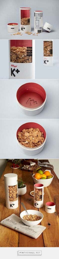 A Creative Redesign Concept Of Kellogg's 'Special K' Cereal For Adults via DesignTAXI curated by Packaging Diva PD. Love this cereal packaging concept.