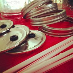KRISTANLYNN.COM: DIY Mason Jar Tumbler Lid- In ONLY 3 Steps