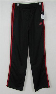 adidas pants boys black performance pants size XL(18) NEW #adidas #AthleticSweatPants #Everyday 15.99